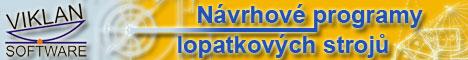 N�vrhov� programy lopatkov�ch stroj� - VIKLAN - v�po�tov� programy na m�ru