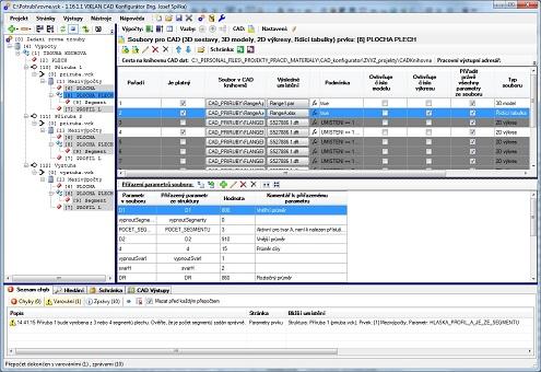display VIKLAN CAD Konfigurátor